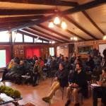 Público asistente al taller en su mayoría representantes de organizaciones de pescadores artesanales de base de FIPASUR.