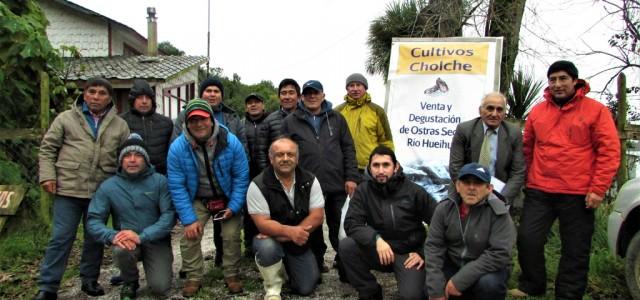 En el sur del país replican exitoso proyecto de acuicultura a pequeña escala desarrollado en la región de Coquimbo